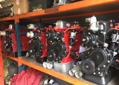 triumph 4 cylinder engines rack