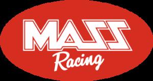 mass racing script logo
